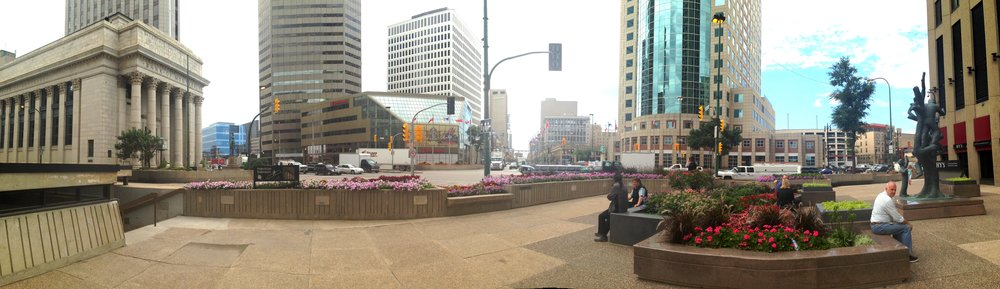 Portage and Main, September 2016. All photo by Zephyra Vun, unless otherwise indicated.