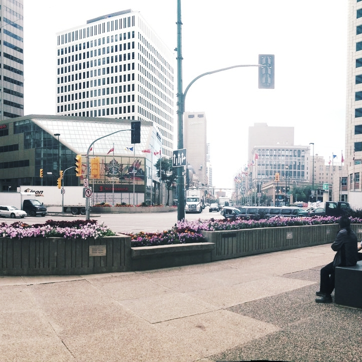 "July 2018 : ""It's time to collectively shift perspectives, not individually change minds: A position on the Portage and Main debate from Design Quarter Winnipeg"" - by Zephyra Vun"