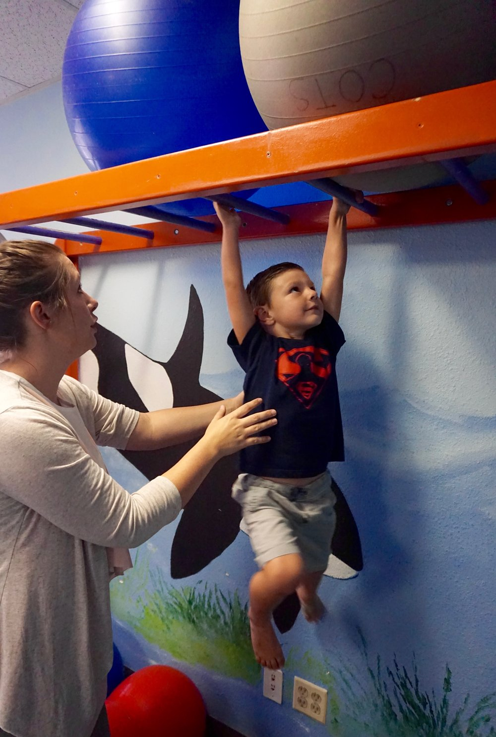 FITS San Diego helps children with individualized therapy.