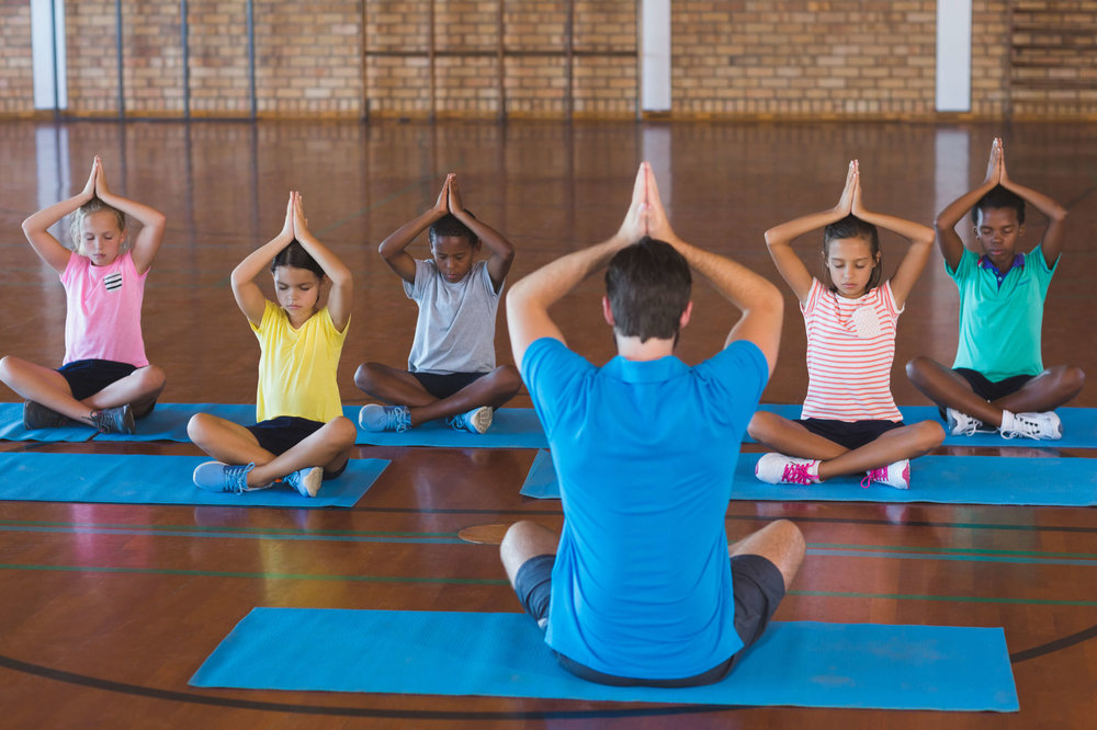 Yoga for children can help in San Diego.
