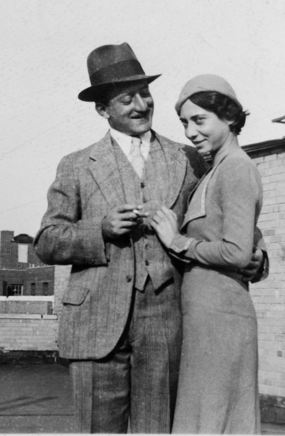 Adolph and Esther Gottlieb<br>New York, 1932