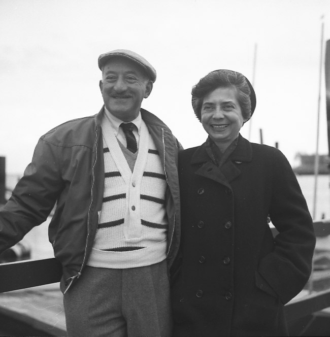 Adolph and Esther Gottlieb<br>East Hampton, NY<br>1960s