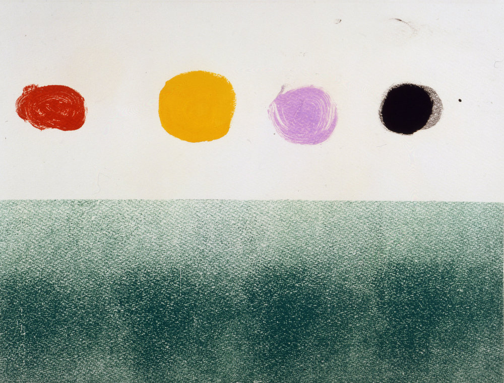 """<br><i>Untitled</i> <br> 1973<br>Monotype<br>23 x 31"""""""