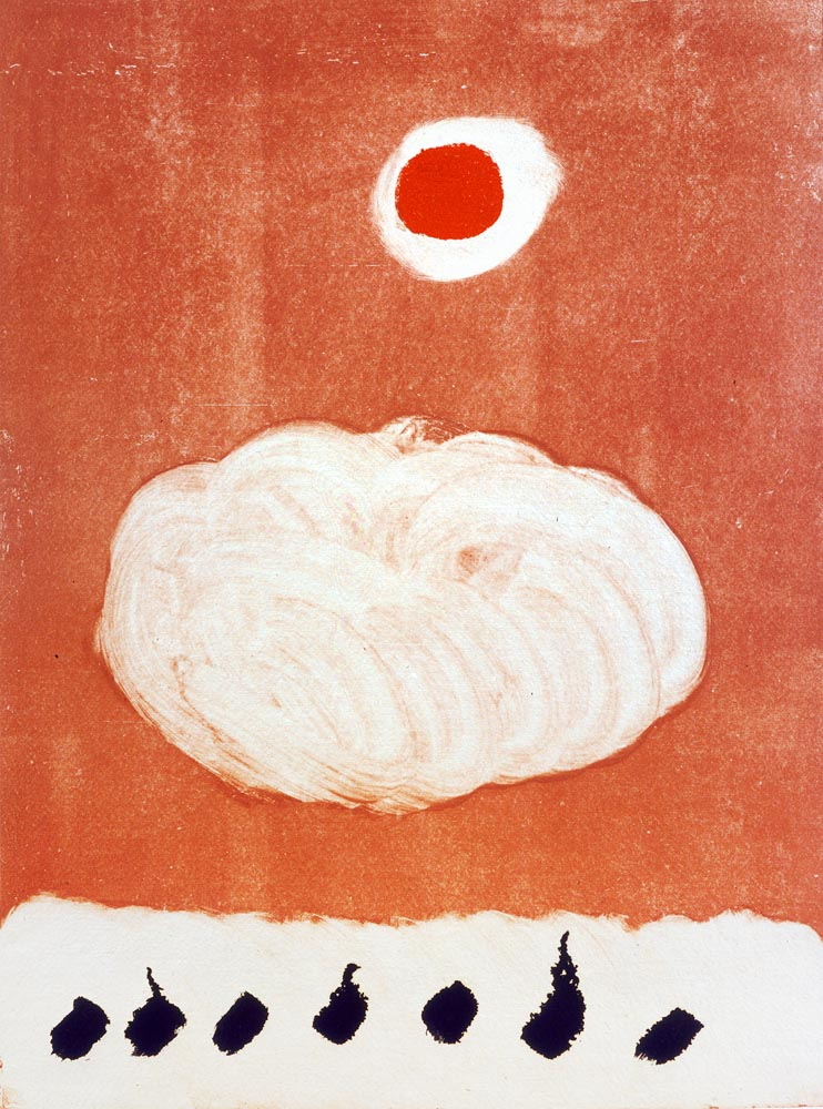 <br><i>Untitled</i> <br> 1973<br>Monotype<br>31 x 22""