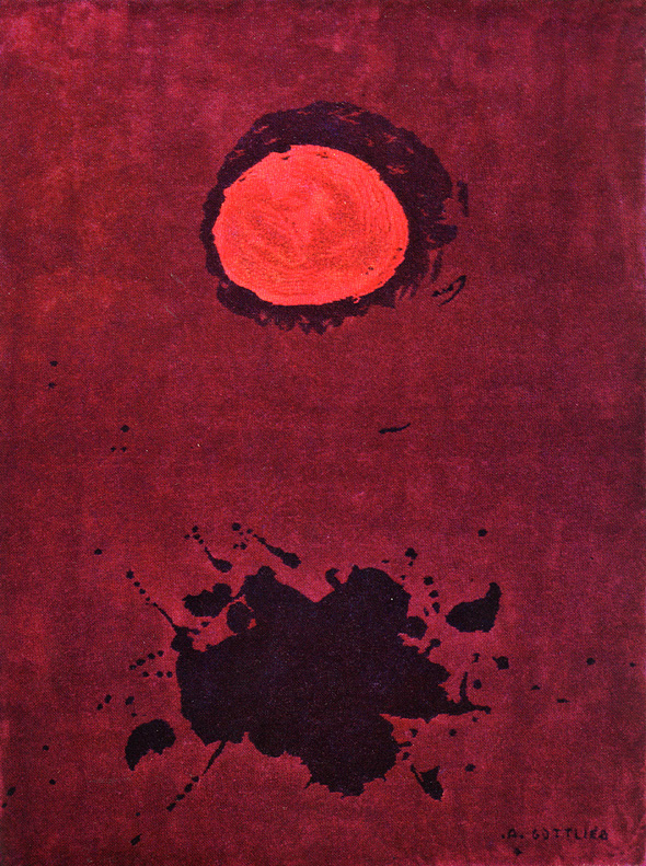 """<br><i>Burst</i><br>1968<br>Tapestry<br>94 x 72"""""""