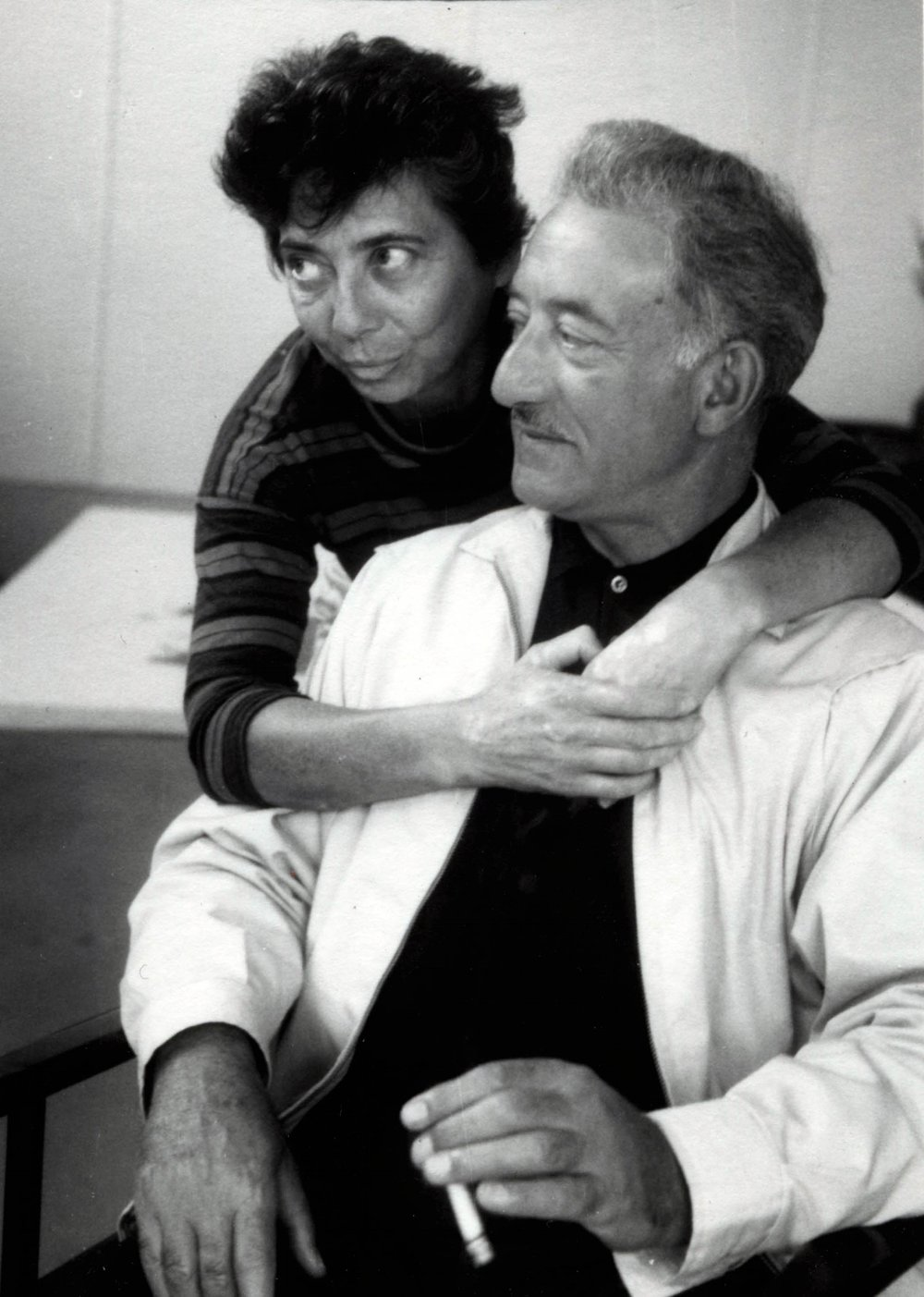 Esther and Adolph Gottlieb c. 1963