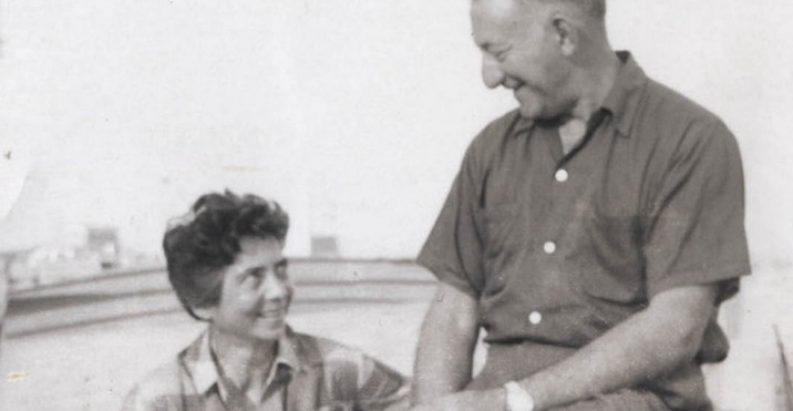 Esther and Adolph Gottlieb in Provincetown, 1956