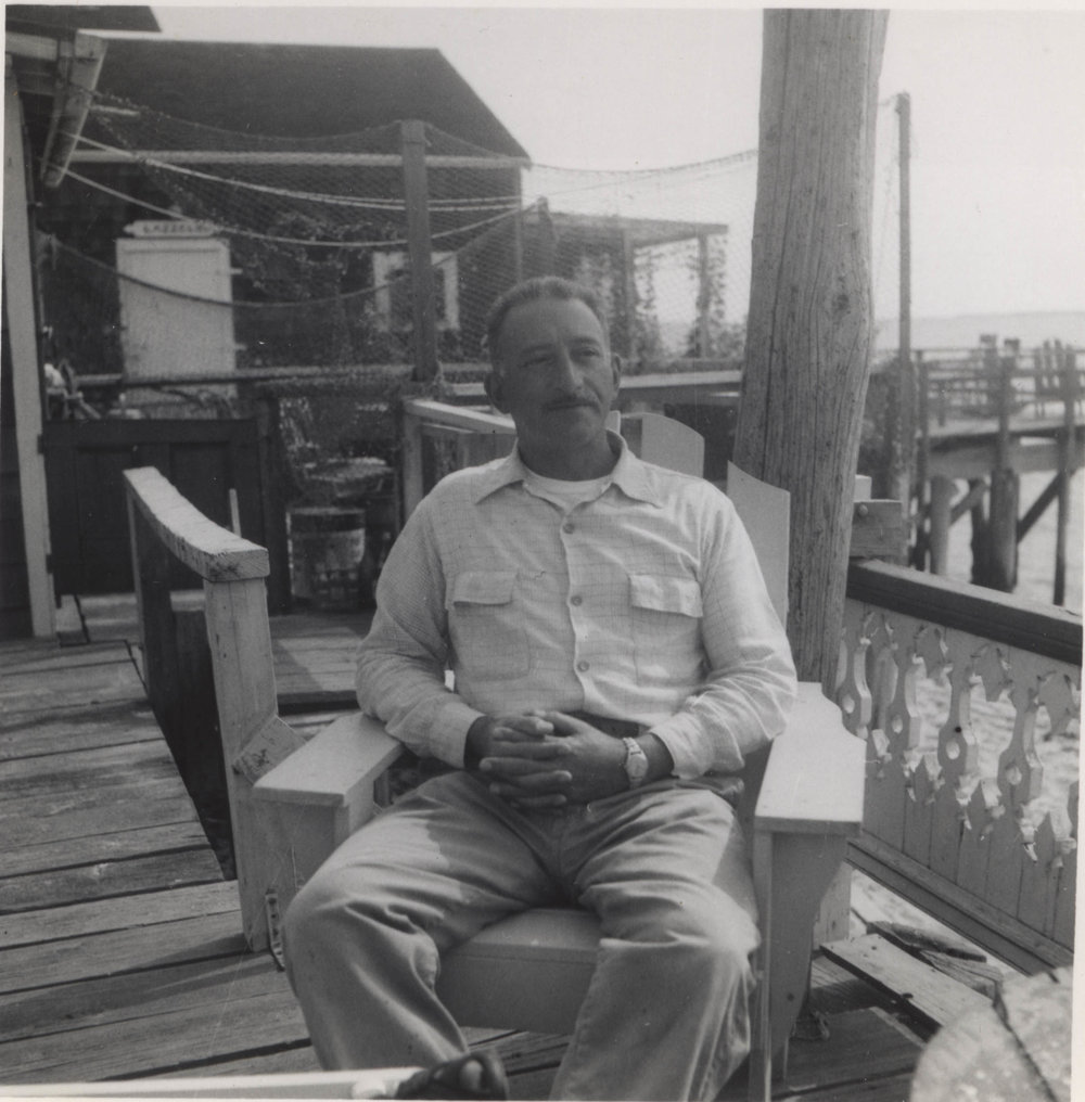 Adolph Gottlieb in Provincetown, 1950s.