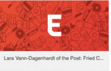 Denver Eater -Lara Vann-Dagenhardt of the Post: Fried Chicken & Crying July 22, 2014