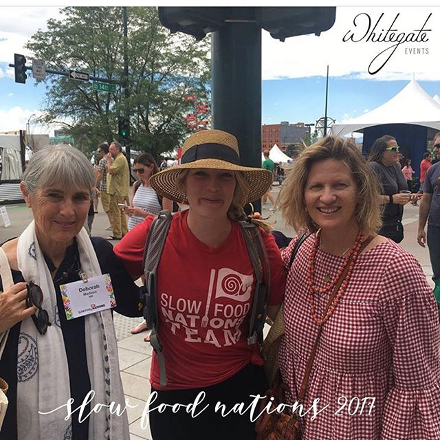 One of my favorite cookbooks last year is nominated for #jamesbeardaward. Good luck @DeborahMadison - it was a pleasure meeting you with @PeggyMarkel  #slowfoodnations #jamesbeardfoundation  #entrepreneur #dreambig #lovewhatyoudo #Foodandbeverageconsulting #womenwhogetshitdone