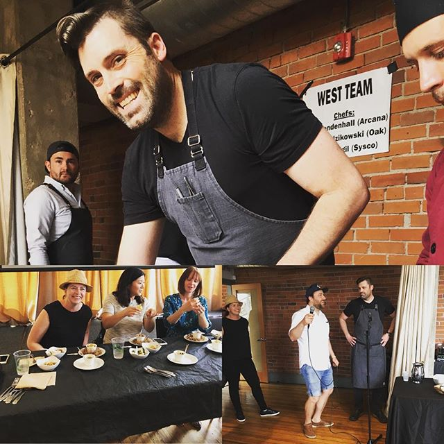 What a fun way to spend our Sunday afternoon. Thank you chefs! @sw4ndiv3 @arcanarestaurant @acorn_denver @oakatfourteenth @flatironsfoodfilmfest @goodfood100list @root_pr @growersorganic @theoadley . . #FFF18 #flatironsfilmfestival #boulder #coloradofoodies #boulderfoodies #denverfoodies #eaterdenver #5280eats #chefschallenge