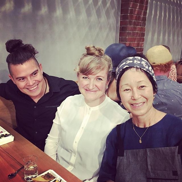 Happy #slowfoodnations eve! Had the most enjoyable evening with @fortuna_chocolate @sonokosakai . . .@ie_kelly @ie_erika Thank you for hosting me in your new home. What a treat