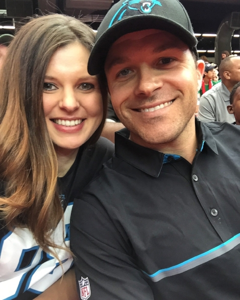 Ohh hey, Jeff and Amanda... Go Panthers!