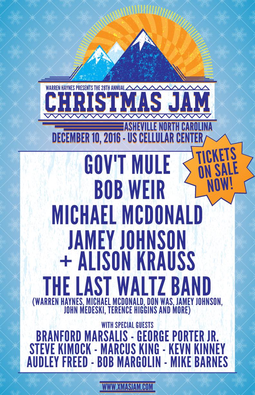 Christmas Jam.Christmas Jam Tickets On Sale Now Christmas Jam