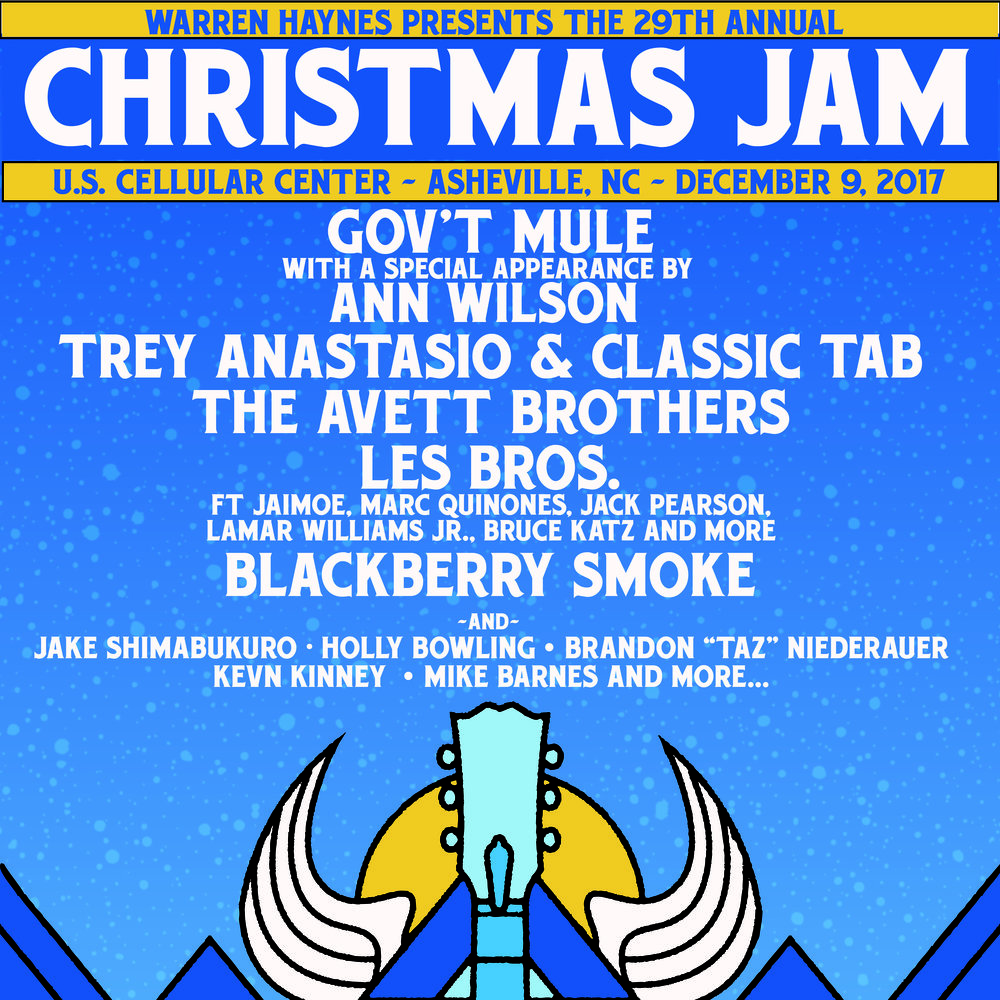 Pre-Sale Ticket and VIP/Travel Packages Now Available! — Christmas Jam