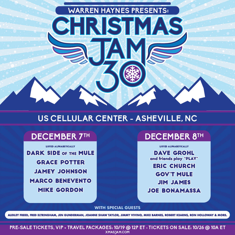 Warren Haynes Presents: The 30th Annual Christmas Jam – Gov't Mule