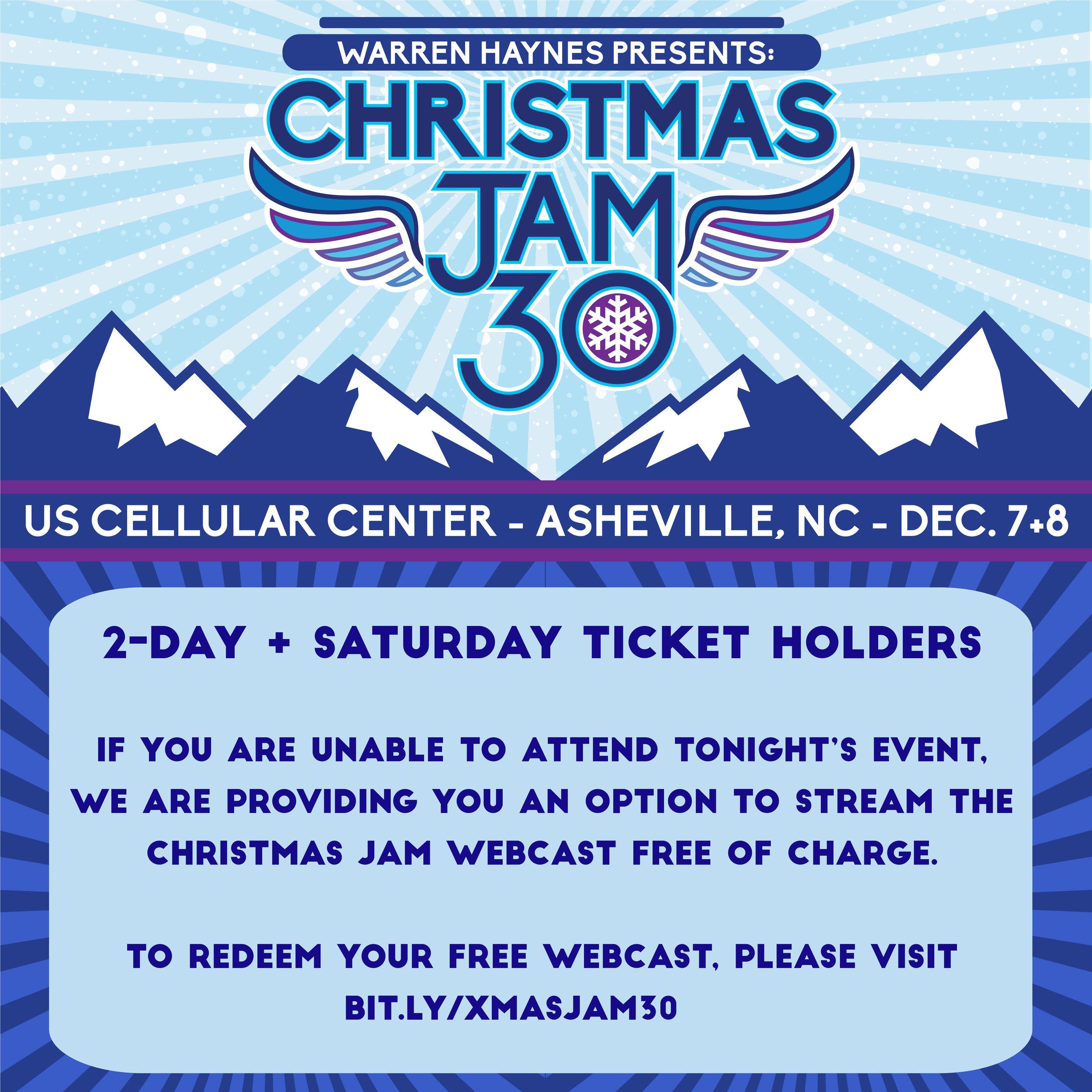 News — Christmas Jam