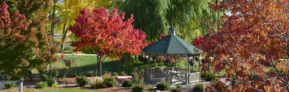 Tranquil gardens and independent living at the Gardens at Columbine