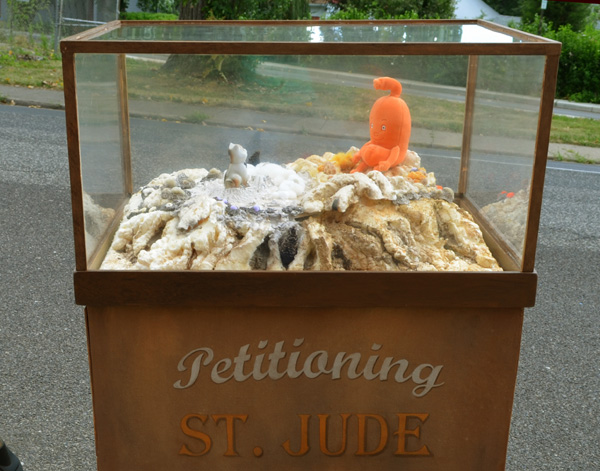 Petitioning St. Jude - inaugural display, 2013