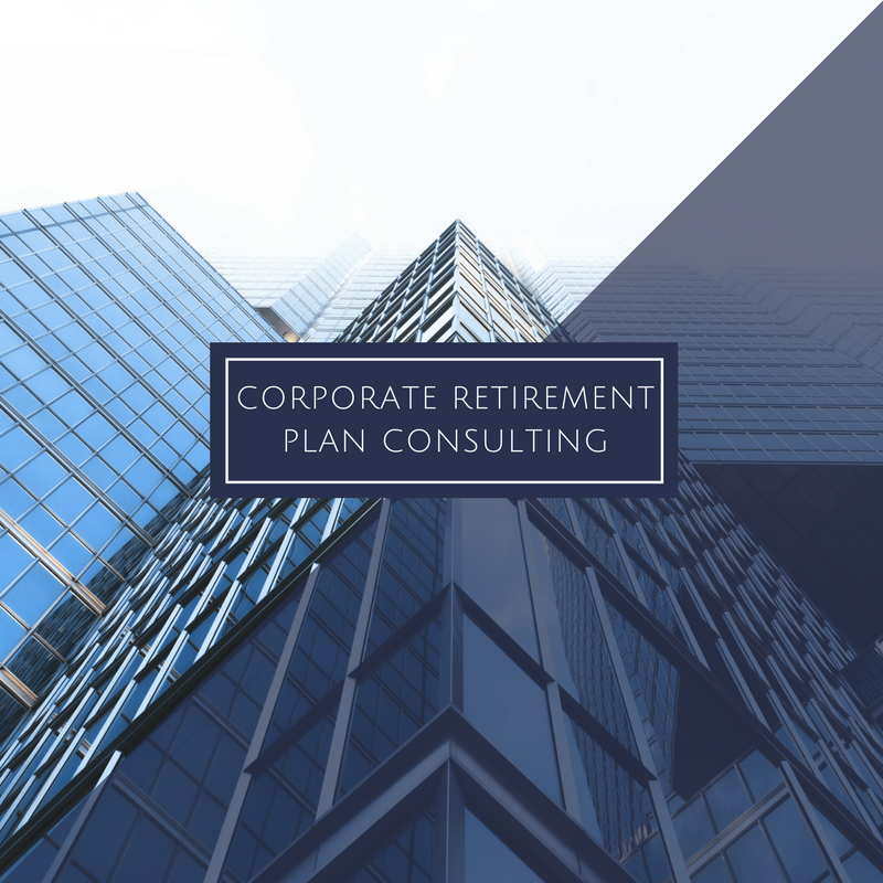 Corporate Retirement Plan Consulting Services
