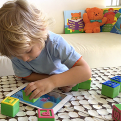 Alpha Tech Blocks - alphatechblocks.comNeed to give the kids some screen time while you're busy with holiday planning? Grab these smart alphabet blocks that connect the physical to the digital world with iPad® games that teach kids ABC's & literacy fundamentals in English & Spanish.