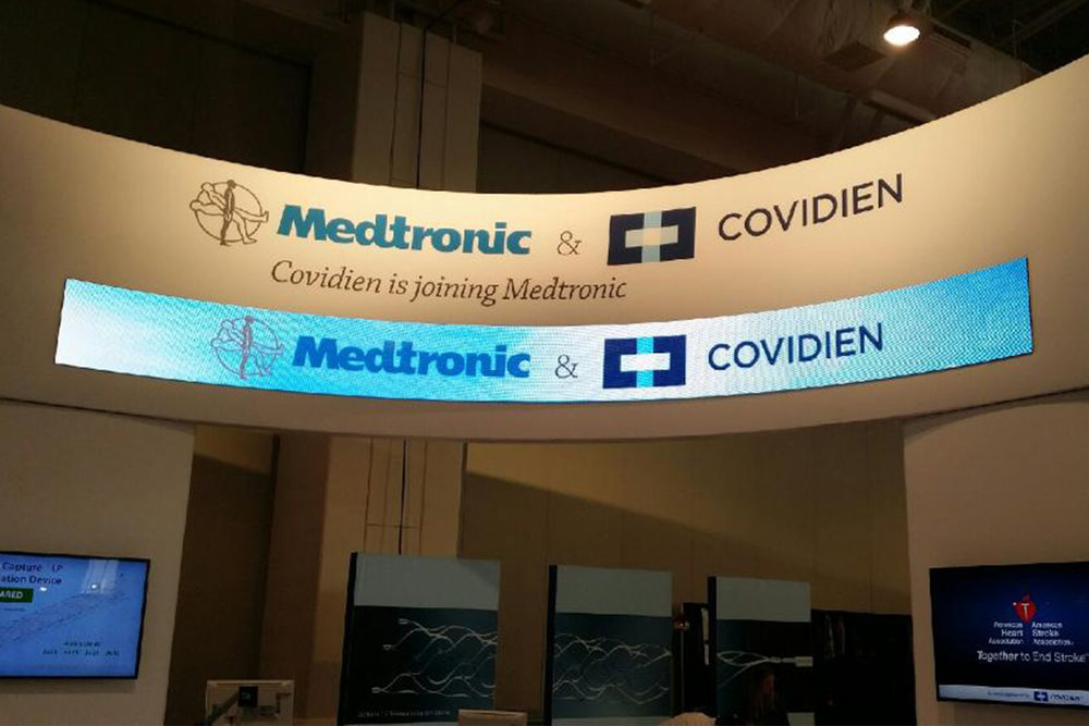 Medtronics Booth