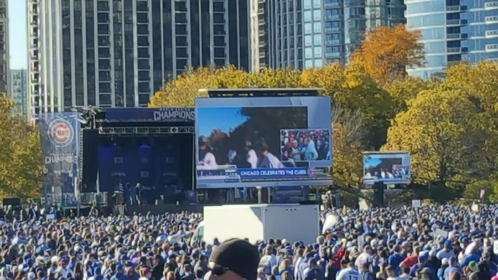 Chicago Cubs - 2016 World Series Celebration