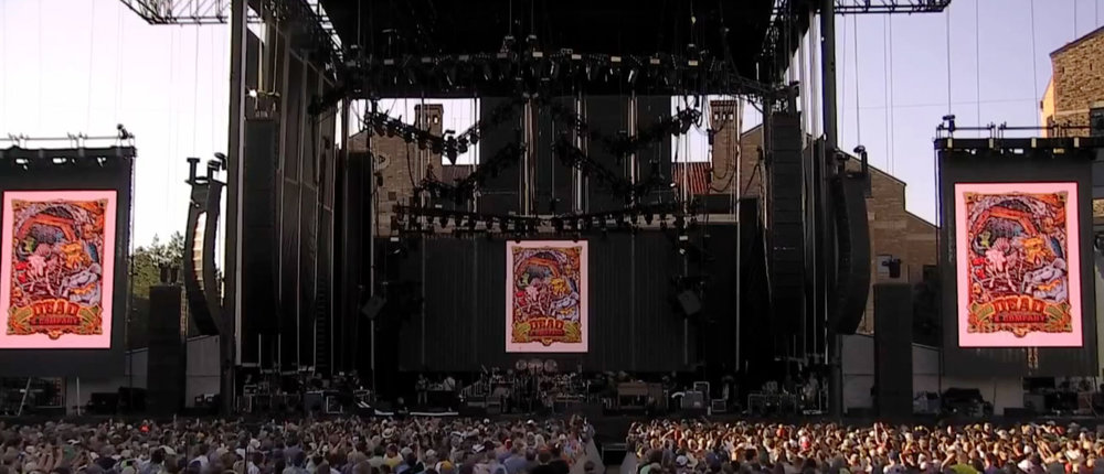 Dead & Company at Folsom Field in Boulder CO