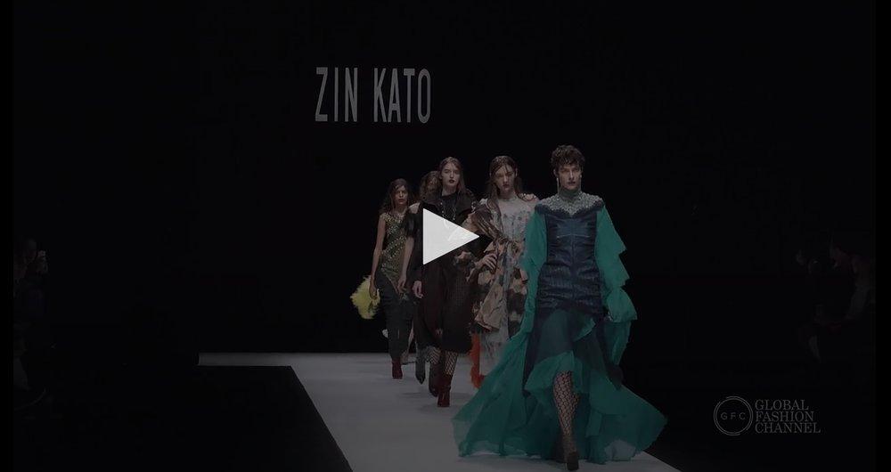 Tokyo Fashion Week SS18 Zin Kato -