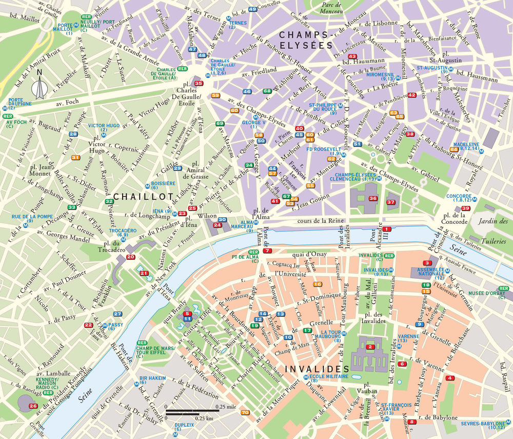 Click image to view a portfolio of maps created for   Little Black Books  travel guides (Peter Pauper Press, maps copyright © David Lindroth Inc.).