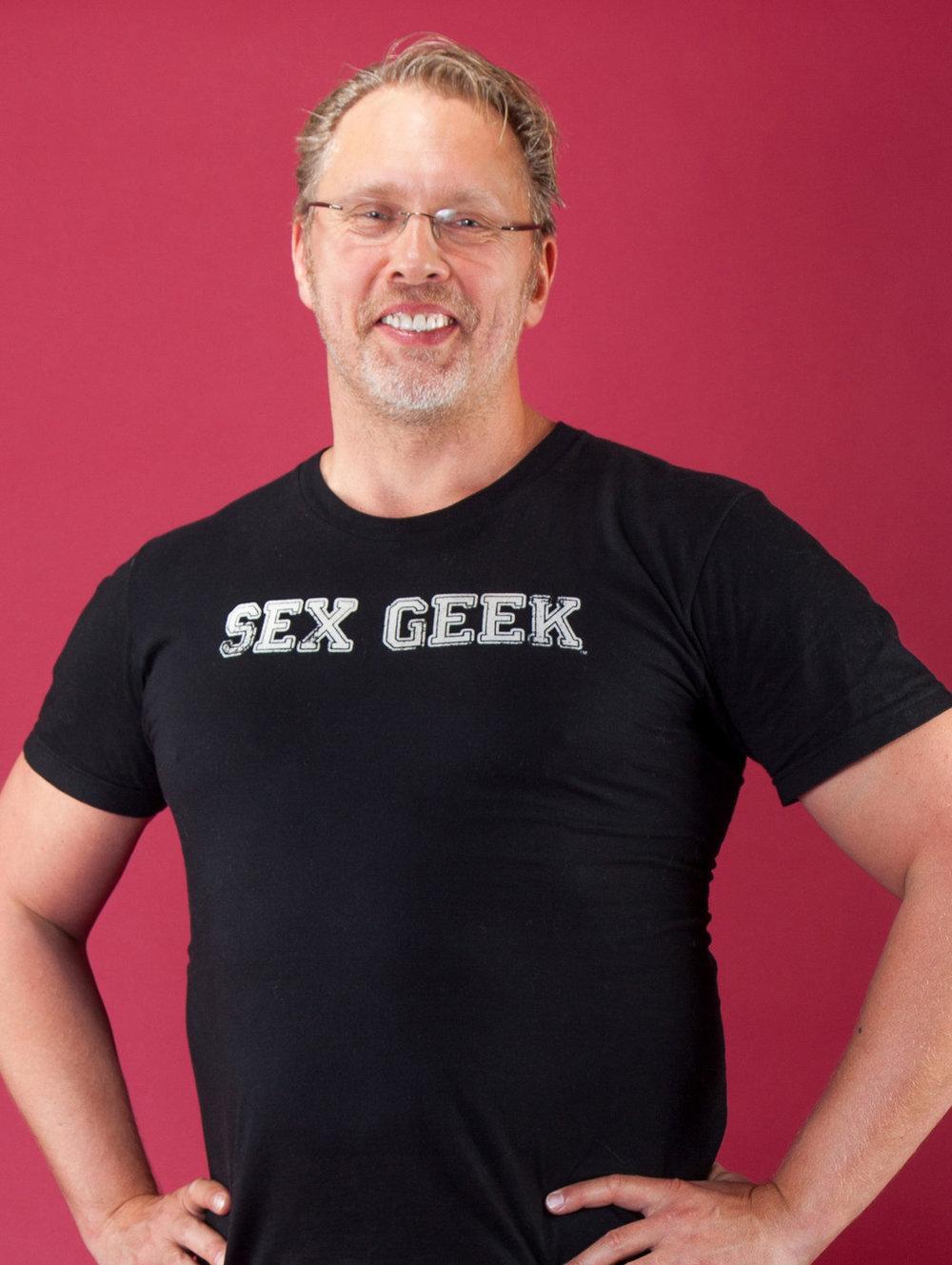 Reid Mihalko ReidAboutSex Sex Geek Black Tee Cropped (1).jpg