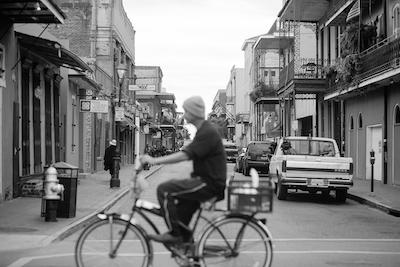 The French Quarter Photograph by our New Orleans friend, Harlin Miller