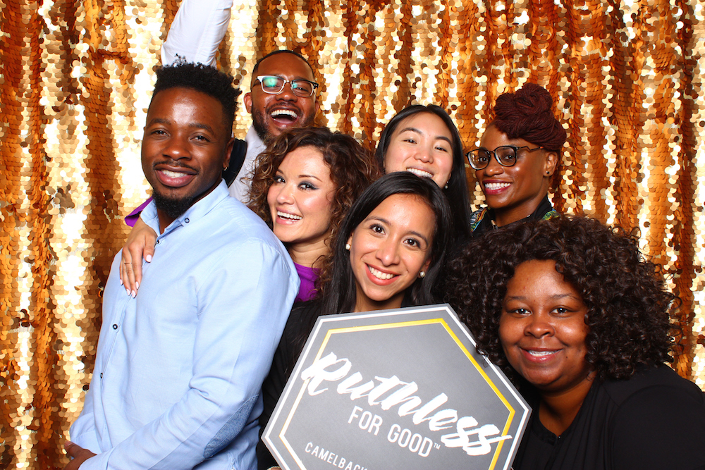 #ruthlessforgood - Damola and other 2018 Fellows at Showcase