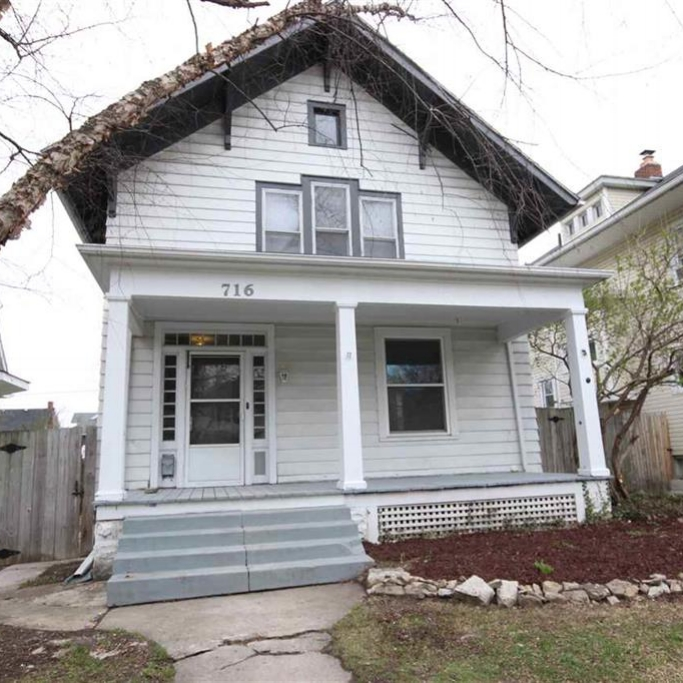716 Kinnaird Avenue - SOLD 5/31/16   Represented: Seller Days on Market: 23 Percentage List to Sales Price: 100% Sale Price:  $65,000