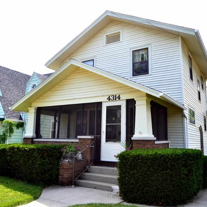 4314 S Wayne Avenue - SOLD 4/15/15   Represented: Seller Days on Market: 188 Percentage List to Sales Price: 100% Sale Price:  $67,500