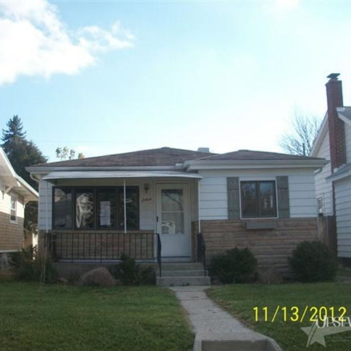 2408 Dodge Avenue -  SOLD 2/13/13   Represented: Buyer List Price: $36,000 Sale Price:  $34,700 Negotiated From Price: $1,300