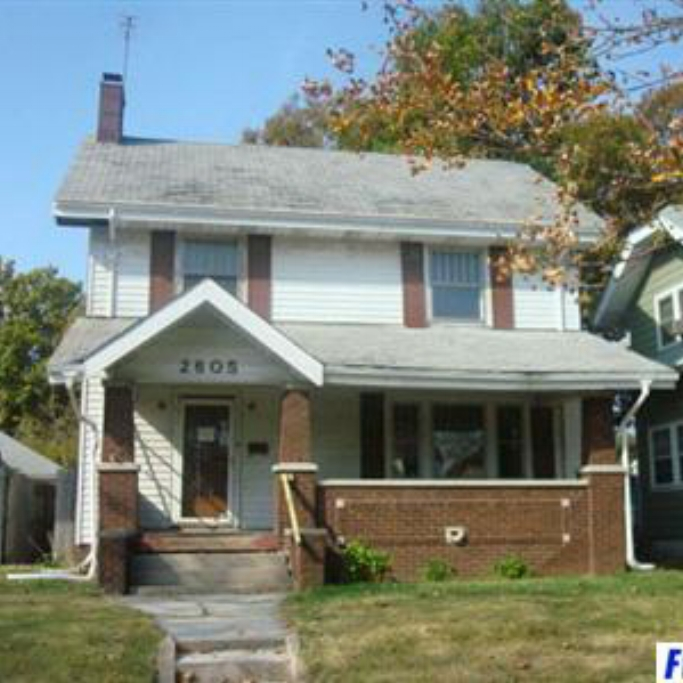 2605 S Anthony Boulevard - SOLD 6/2/11 Represented: Buyer List Price: $50,301 Sale Price:  $13,000 Negotiated From Price: $37,301