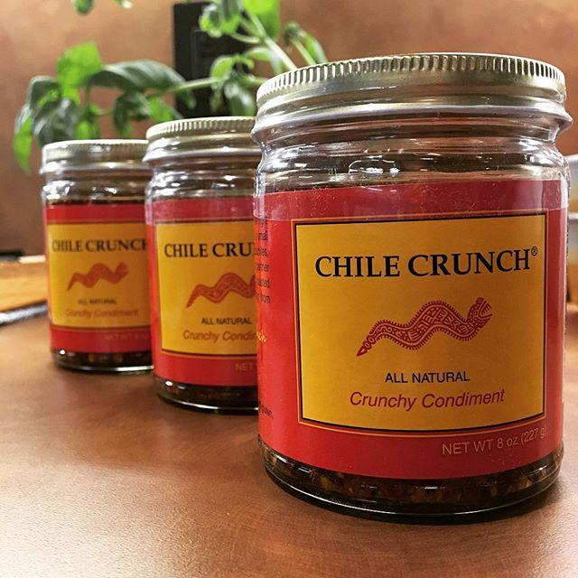 Now we're talking! #chilecrunch