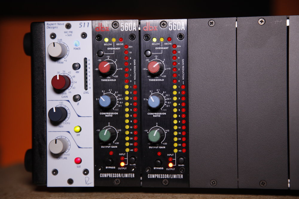 The Rupert Neve Lunchbox Setup