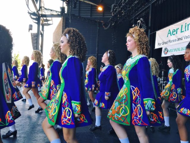 Glencastle Irish Dancers at 2017 Milwaukee Irish Fest