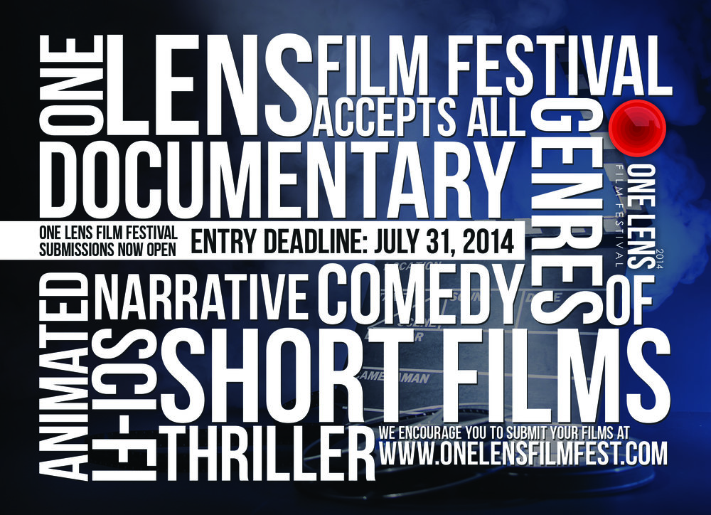 Promotional Flyer - 5 by 7 - Film Festival