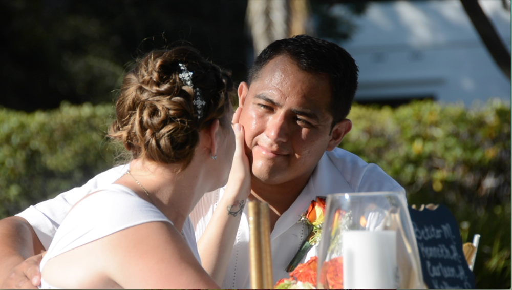 """""""We are very impressed with their service...they took the time to our needs and vision. Hire them and be at peace that every special moment from your day will be captured""""."""