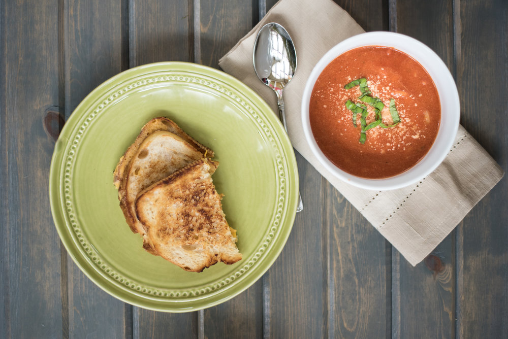 Tomato Soup with Orzo-0826