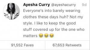 Ayesha Curry Social Media