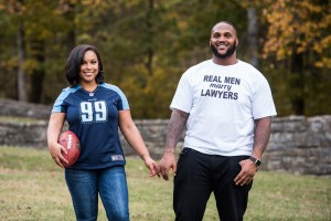 Ryann Gray and Jurrell Casey