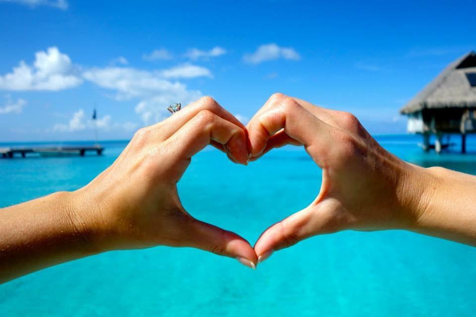 Butler Bora Bora Heart
