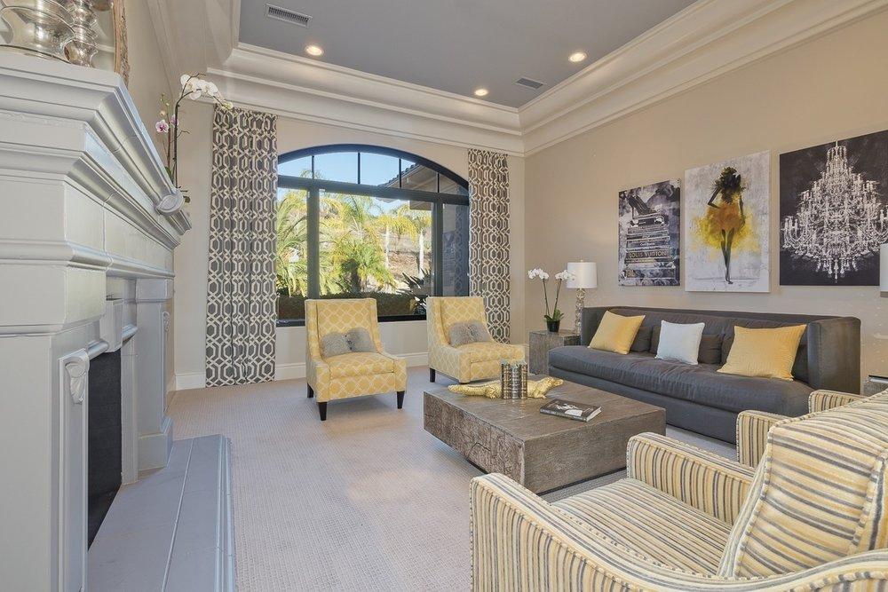 New formal living room, Design by Nadia