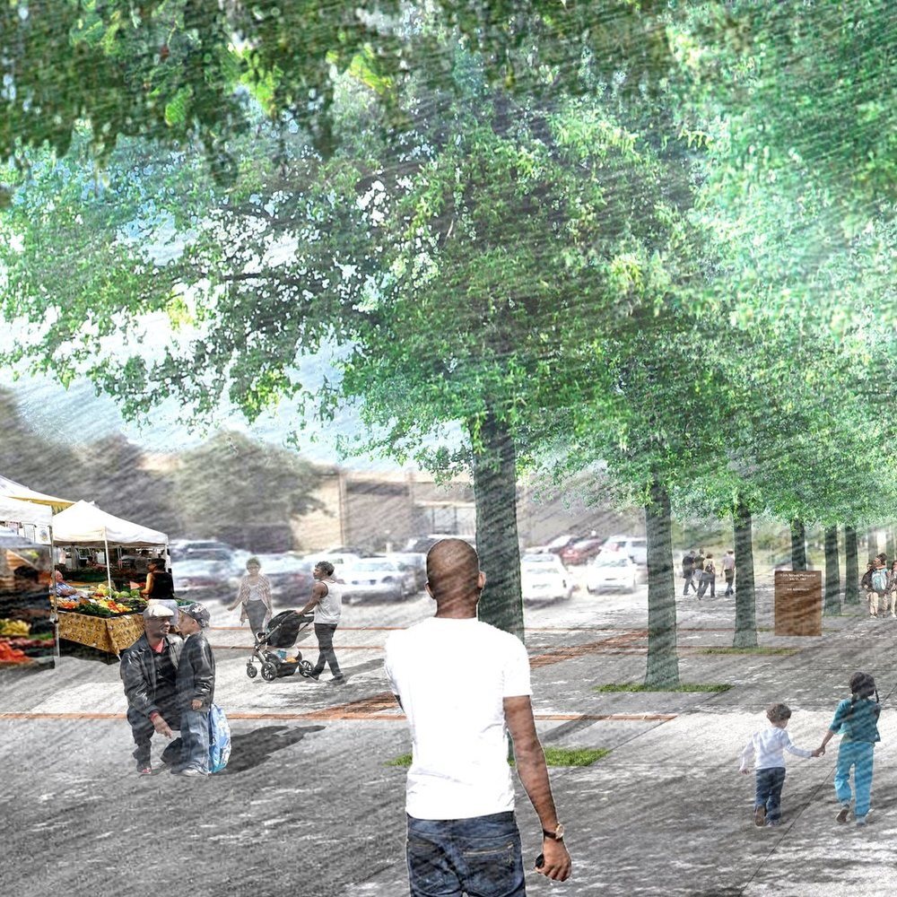 Rosa Parks Neighborhood Master Plan  Detroit, MI