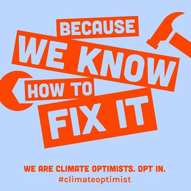 #climateoptimist