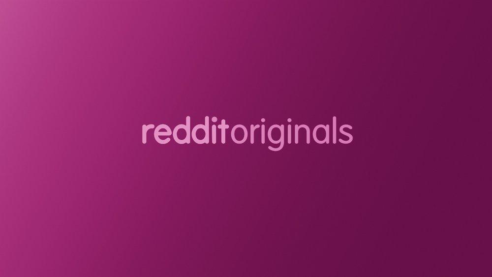 Reddit Originals | branding